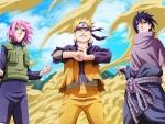 Haruno, Naruto And Sasuke
