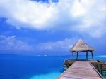 Beach Pier in Cancun