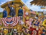 Lincoln's Train to Washington