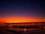 Sunrise at Cape Hatteras,NC Fishing Pier