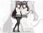 Twin Neko Girls