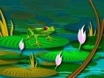 pool lily