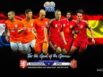 NETHERLANDS - SPAIN INTERNATIONAL FRIENDLY MATCH