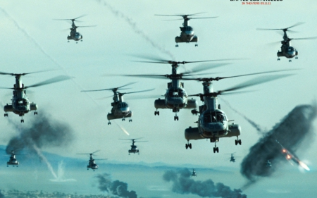 battle los angeles - angeles, battle, los, helecopter