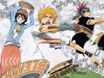 Rukia, Ichigo And Renji