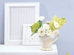 Beautiful Flowers and Frames