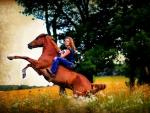 Cowgirl Laura Ashley
