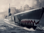 War Art - Submarine On The Prowl
