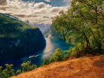 Great View Of Geiranger
