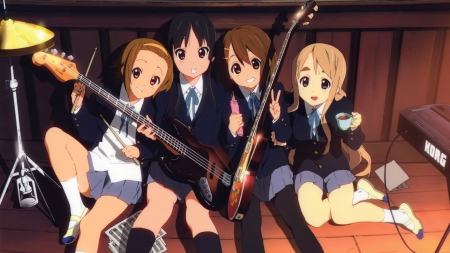 K-On - cut, musi, After  School  Tea  Time, K-On