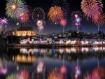 Fireworks over Germany