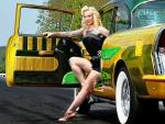 Pin Up Model-Leah Jung