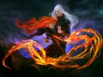 FIRE and ICE:  Taming The Fire Of Her Love