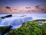 Sea - water cascade