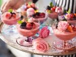 Summery Raspberry Mousse