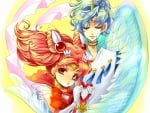 Sailor Chinimoon & Helios