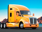 Yellow Kenworth