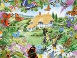 butterfly family garden