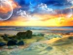 Beautiful Fantasy Sunset ...