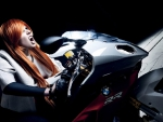 BMW s1000 rr and supermodel