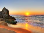 Sunrise on Australian Beach