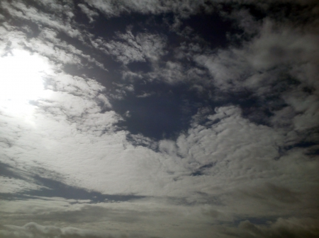 Meadfoot Sky - torquay, meadfoot, devon, clouds, sky