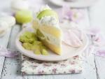 Melon Cream Cake