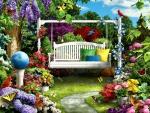 Swing in the Garden F2