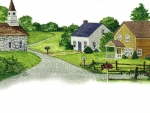 Village Scene F