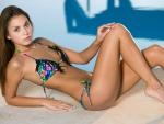 Bikini Model Sabrisse