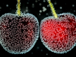 Two Cherries with Dropslets