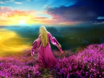 A Glorious Purple Day..