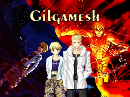 Gilgamesh Fate Stay Night Anime Background Wallpapers On
