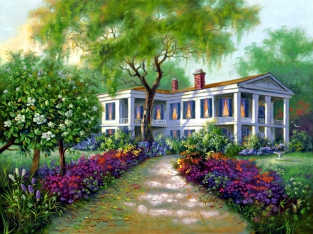 Amazing Southern Manor Other Abstract Background Wallpapers On Download Free Architecture Designs Scobabritishbridgeorg