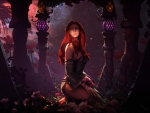 Redhead elf girl