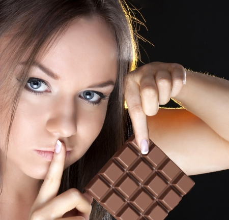 Chocolate Girl Photography Abstract Background Wallpapers On