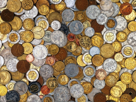 coins - cool, mind teasers, fun, coins, abstract