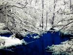 deep blue lake