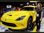 Alex Rogeo and 2013 SRT Dodge Viper