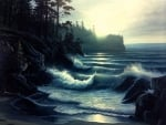 'Ocean's fury'.....