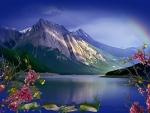 ~*~ Rainbow At The Lake ~*~