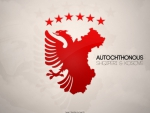 Autochthonous wallpaper Albania