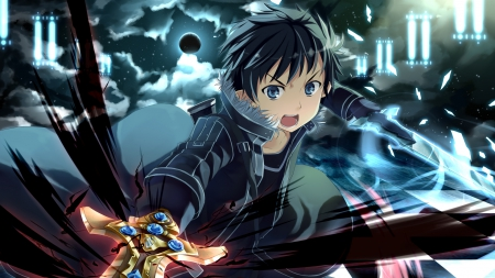 Kirito Attacks Previous Sword Art Online