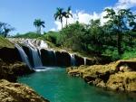 El Nicho Falls
