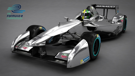 Formula E Racing Car - Formula E Racing Car, Fast, Electric, Technology