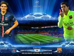 PARIS SAINT GERMAIN - FC BARCELONA CHAMPIONS LEAGUE QUARTER-FINALS