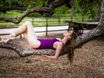Ballerina Relaxing
