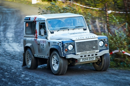 Land Rover Defender - thrill, 4x4, offroad, rally
