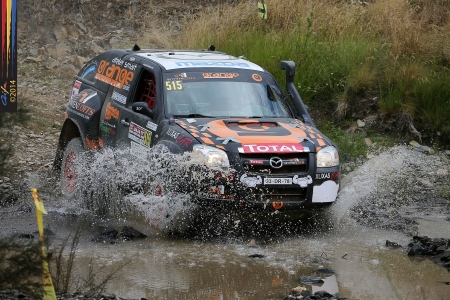Challenge Total Mazda 2014 - thrill, 4x4, offroad, rally
