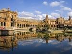 castle in seville spain hdr